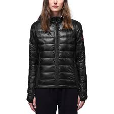 canada goose hybridge lite down jacket women s black graphite