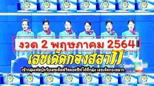 ถ่ายทอดสดการออกสลากกินแบ่งรัฐบาล งวดวันที่ 2 พฤษภาคม 2564 - news 17 times