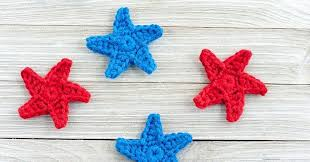 Crochet Star Pattern Free Beauteous How To Crochet A Star