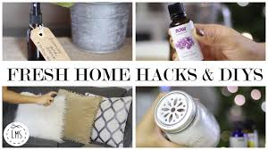 How To Freshen Your Home Fast Fresh Home Hacks And Diys Youtube