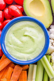 avocado ranch dressing and dip video