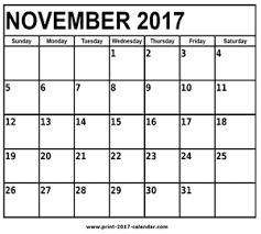 november 2017 calendar print 2017 calendar