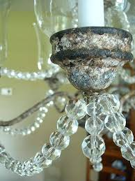 spray painting a chandelier oil rubbed bronze