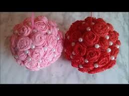 Paper Flower Balls To Hang From Ceiling Decorative Flower Balls How To Make Wedding Pomander Flower Ball