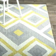 5x7 gray and white area rug yellow rugs side s