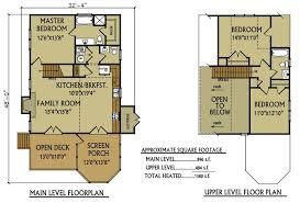 Cabin Floor Plans With A Loft  Home Deco PlansCabin Floor Plans