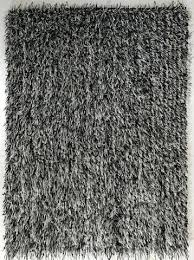 black and white rug metallic thick thin rug black off white black white floor runner