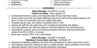call center supervisor resume sample call center supervisor resume sample salon manager description