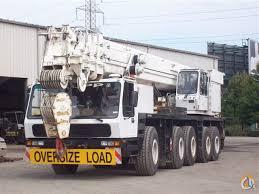 Krupp Kmk 6200 Load Chart 1995 Krupp Kmk 5175 175 Ton All Terrain Crane Crane For Sale