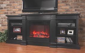 modern black electric fireplace fresno indoor tv stand entertainment center suite mantel medium console big lot