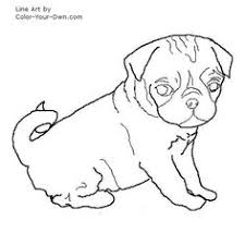 Small Picture Pug Puppy Coloring Page Craft Ideas Pinterest Pug puppies