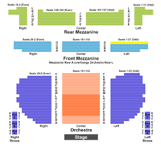 Klein Memorial Auditorium Seating Chart Eugene Oneill Seating Chart Section Row Seat Number Info