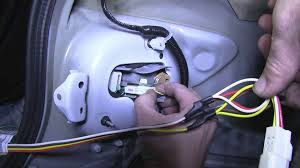 yaris trailer wiring wiring diagram schematics baudetails info installation of a trailer wiring harness on a 2011 toyota corolla