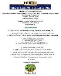 Sales Meeting Topic Business Development Education Workforce H Y P E Sales