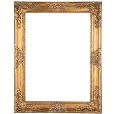 antique gold wood open frame 18 x 24