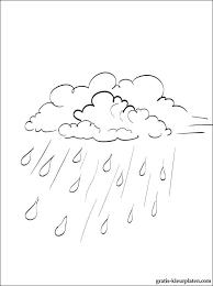 Herfst Regen Kleurplaten Gratis Kleurplaten