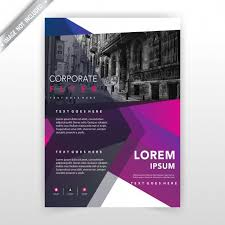 business flyer ilration layout free vector