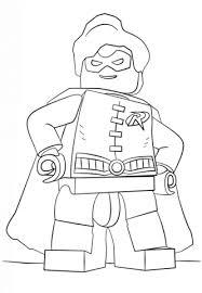 Lego Robin Kleurplaat Gratis Kleurplaten Printen