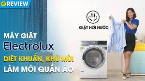 Máy giặt Electrolux 11kg: giặt hơi nước diệt khuẩn, giảm nhăn quần áo  (EWF1142BEWA) • Điện máy XANH - YouTube