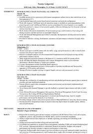 Sample Resume Of Supply Chain Manager Senior Supply Chain Manager Resume Samples Velvet Jobs 11