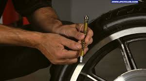 How To Check Motorcycle Tire Pressure By J P Cycles