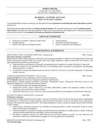 Business Systems Analyst Resume Template Lezincdc Com