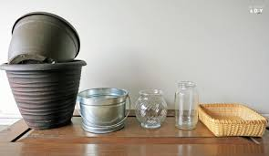 Repurposing Jars And Baskets And Buckets Repurposing Containers