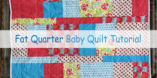 Fat Quarter Baby Quilt Pattern – Craftbnb & 10 Free Fat Quarter Quilt Patterns Projects Adamdwight.com