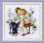Набор для вышивание влюбленные
