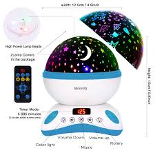 5 Min Timer With Music Amazon Com Star Night Light Projector For Kids With Timer And