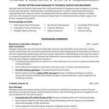 Salesperson Resume Psychiatric Technician Resume