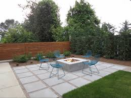 modern patio pavers. Modren Modern View In Gallery Modern Paver Patio With Gravel Throughout Patio Pavers S