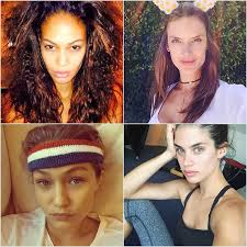 victoria s secret models without makeup