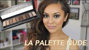 l oreal la palette 1 tutorial day to evening makeup trinaduhra