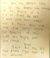 Apology Letter To Boss Adorable Portland Teen Writes Hilarious Apology Letter To Staff After