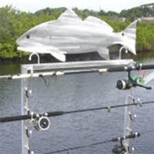 fishing rod holder 10 pole rack