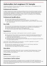 Automation Tester Resume Sample New Detailed Resume Template Luxury