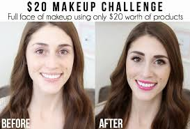 the 20 makeup challenge
