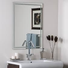 amazoncom decor wonderland frameless etch mirror home  kitchen