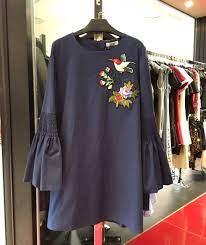 Rachelle Bird Embroidery Dress - ShopperBoard