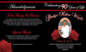 Sample Of 50th Birthday Party Program Elegant 90th Birthday Program Design Outside Of Program Party