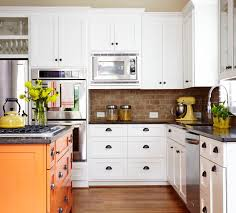 Awesome Kitchen Remodel Design And Decoration Ideas With Brick Wall Simple Kitchen Backsplash With Granite Countertops Decoration