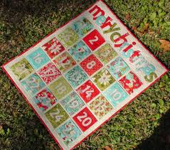 Quilted Advent Calendars to Count Down to Christmas & Pocket Advent Calendar Quilt Pattern Adamdwight.com
