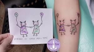 Bellissimi Tatuaggi Dedicati Ai Figli Donnawebnet