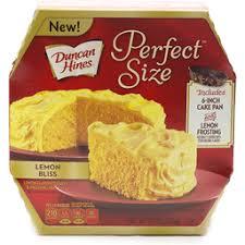 Duncan Hines Perfect Size Lemon Cake Frosting Mix Lemon Bliss Global