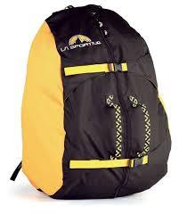 "<b>Чехол для веревки La</b> Sportiva ""Rope Bag Medium"", black/yellow"