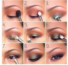 how to apply eyeshadow for beginners simple tutorial green eye make up professionally you