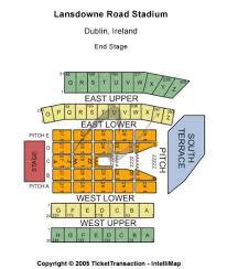 Aviva Stadium Tickets And Aviva Stadium Seating Chart Buy