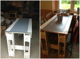 Pallet Kitchen Furniture Pallet Kitchen Table O Pallet Ideas O 1001 Pallets