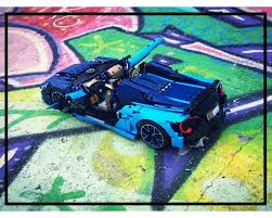 42083 bugatti chiron is a 3,599 piece technic set released in 2018. Lego Moc Mclaren 570s Bugatti 42083 B Model By Loxlego Rebrickable Build With Lego